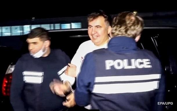Минюст Грузии опроверг слова врача Саакашвили о его здоровье