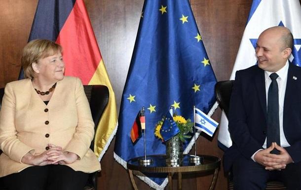Меркель наголосила на важливості безпеки Ізраїлю