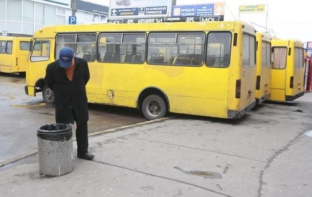 Киева расторг договора на 21 автобусном маршруте