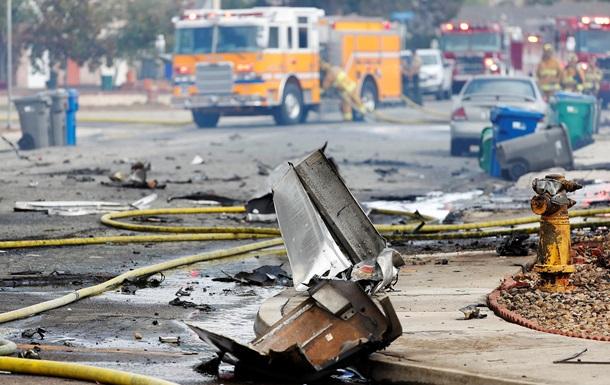 В США упал самолет, есть жертвы