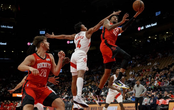 НБА: Торонто Михайлюка не оставило шансов Хьюстону
