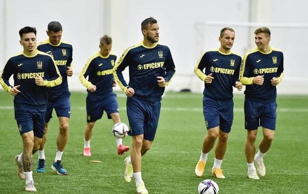 Украина огласила заявку на матч с Боснией и Герцеговиной