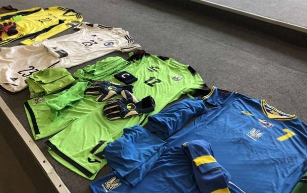 Украина сыграет во Львове в синем комплекте формы