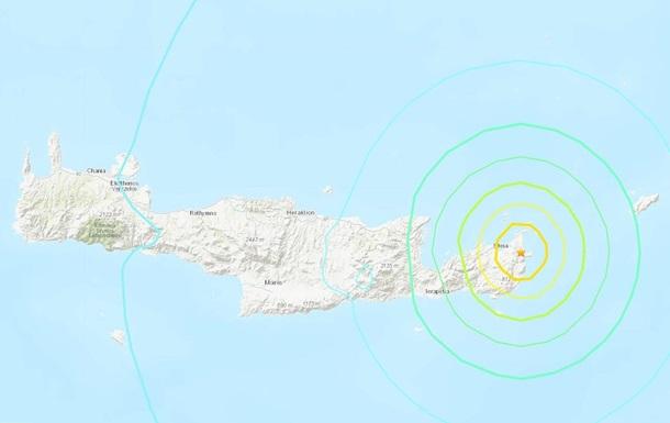 На острові Крит стався сильний землетрус