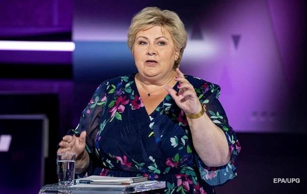 У Норвегії прем єр-міністр подала у відставку