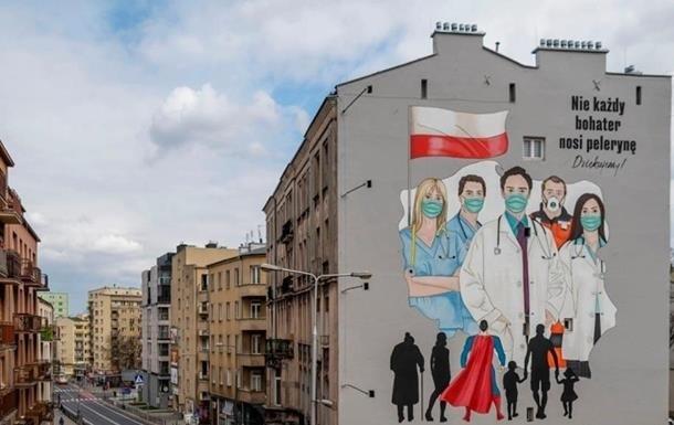 У Польщі за тиждень приріст COVID збільшився на 60%