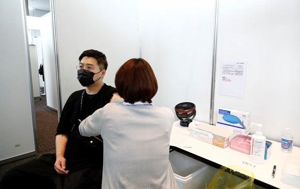 В Японії взимку мають намір почати вакцинацію третьою дозою