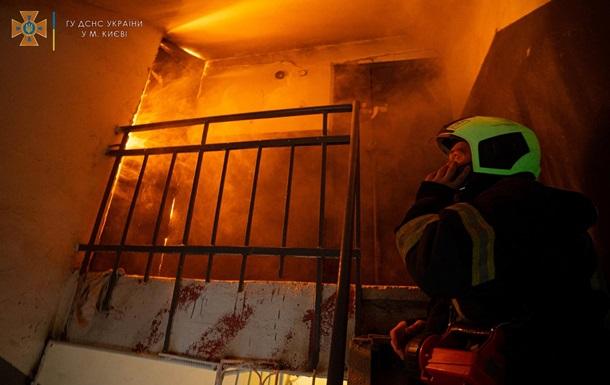 У Києві під час пожежі загинув пенсіонер - ЗМІ