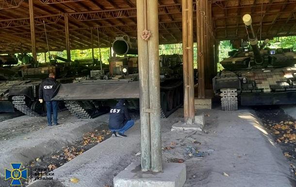 Керівники держпідприємства наживалися під час ремонту бронетехніки - СБУ