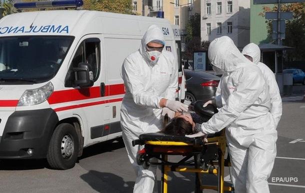 В Украине резкий скачок числа заболевших COVID