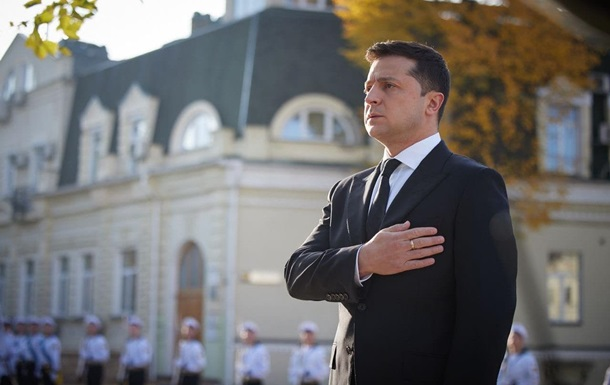 Зеленский поздравил защитников и защитниц Украины