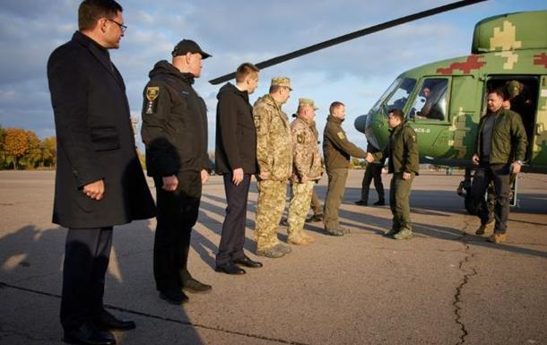 Зеленський прибув на Донбас із робочим візитом