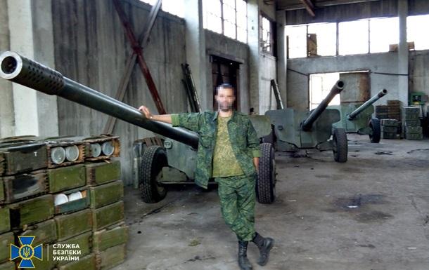 СБУ допитала затриманого на Донбасі сепаратиста