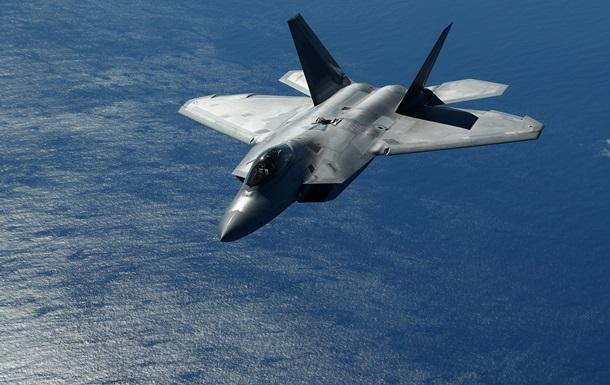 Винищувач F-22 розбився через `неправильне` миття