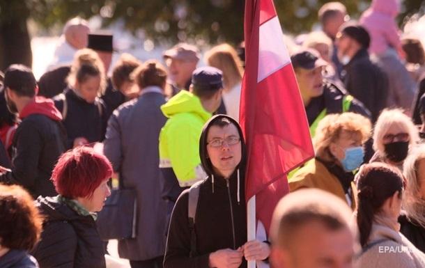 В Латвии зафиксирован антирекорд прироста коронавируса
