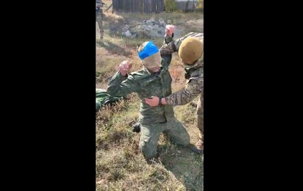 З`явилося відео обшуку затриманого на Донбасі росіянина