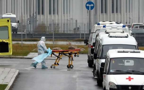 В России новый антирекорд прироста коронавируса