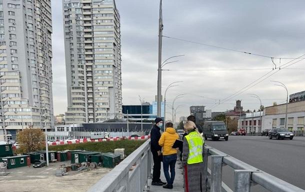 В Киеве правоохранители проводят осмотр Шулявского моста - «Украина»