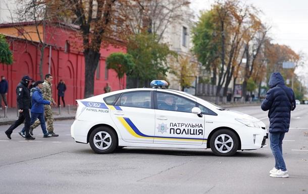 В Харьковской области водитель-нарушитель сбил патрульного