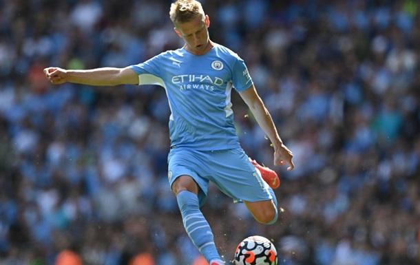 Зинченко попал в заявку Манчестер Сити на матч с Брюгге