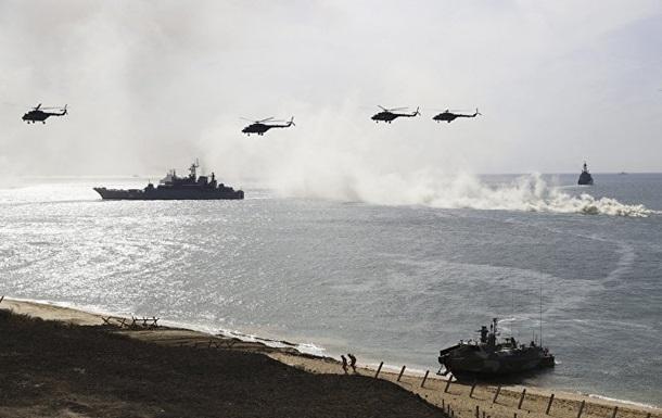 Россия провела учения по обороне побережья Крыма
