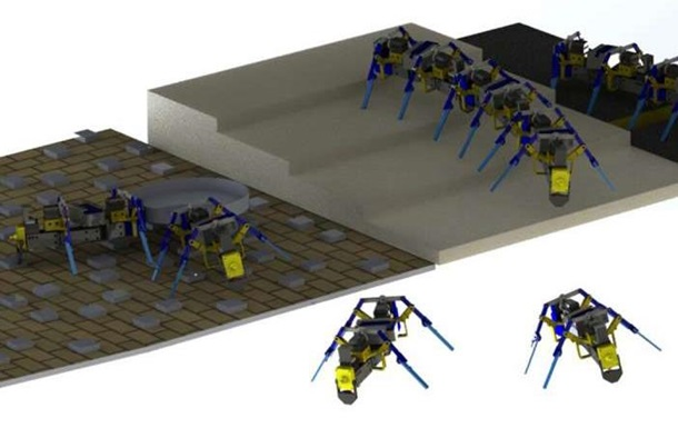 В США появились летающие мини-роботы