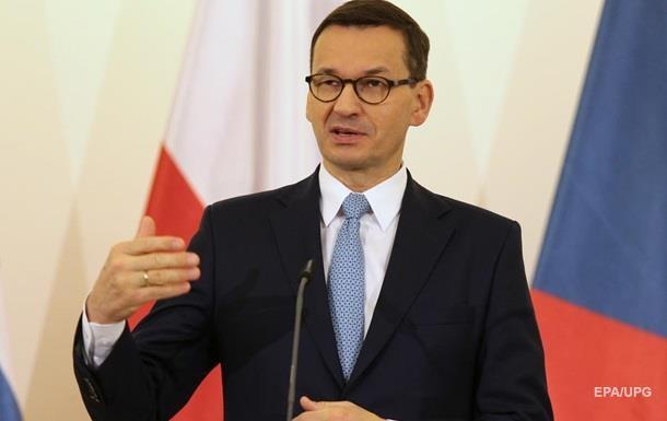 Премьер-министр Польши обвинил ЕС в шантаже