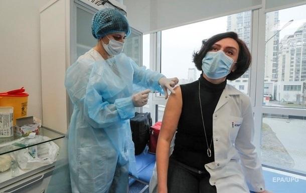 В Украине за сутки рекордное число COVID-прививок