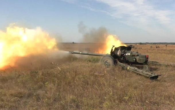 Украина провела учения противотанковых резервов возле Крыма