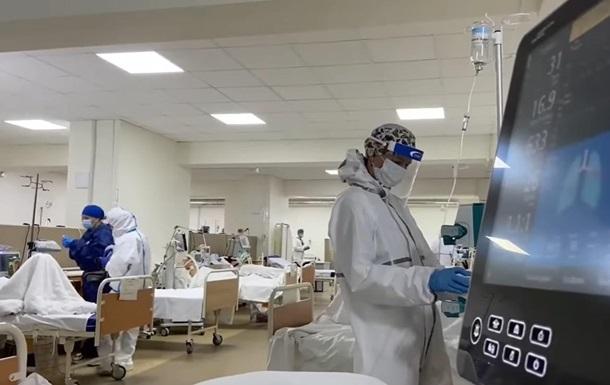 В больнице Львова рекорд по числу пациентов в COVID-реанимации