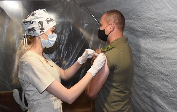 В ВСУ вакцинацию прошли 85% служащих