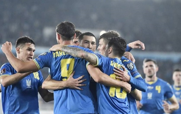 Рейтинг ФИФА: Украина занимает 26 место