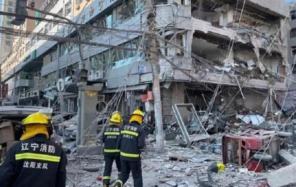 Мощный взрыв в ресторане Китая попал на видео