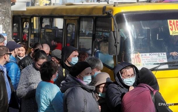 В Днепре транспортный коллапс из-за карантина