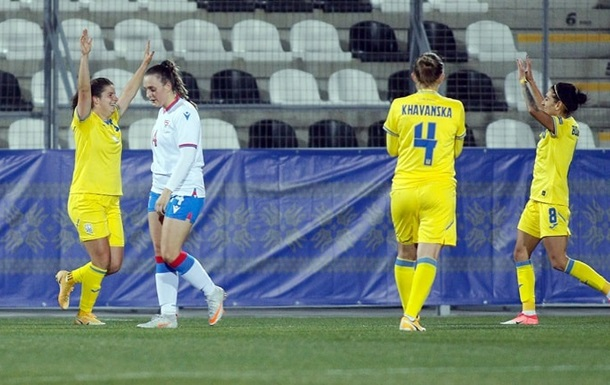 Женская сборная Украины разгромила Фареры в отборе на чемпионат мира-2023