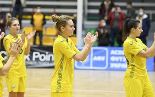 Женская сборная Украины по футзалу вышла в финальный этап Евро-2022