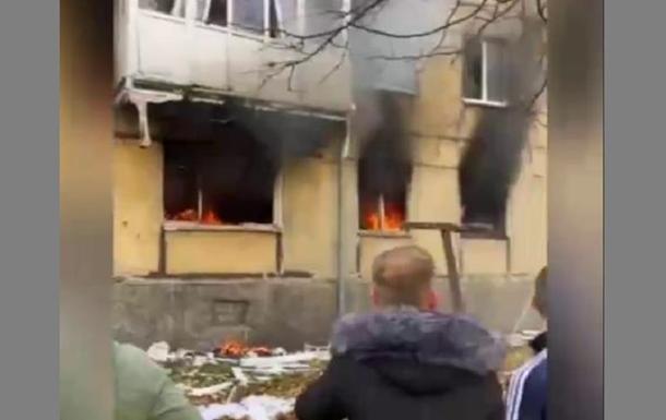 В РФ произошел взрыв газа и пожар в жилом доме