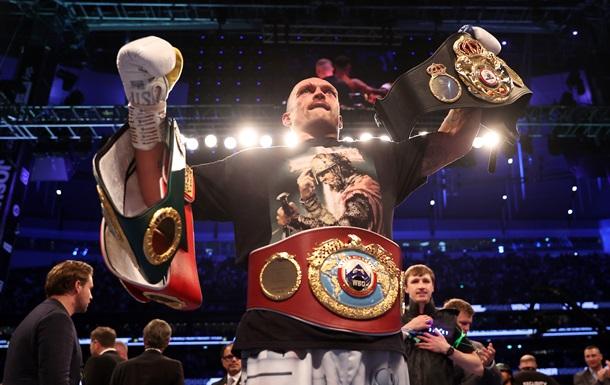 Усик второй среди боксеров вне зависимости от категории
