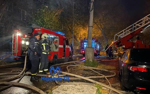 В Киеве ночью горело историческое здание