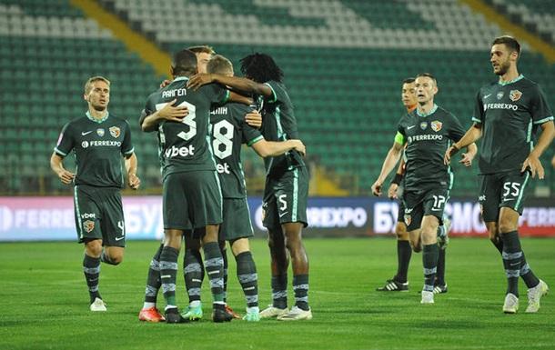 Ворскла вышла в 1/4 финала Кубка Украины