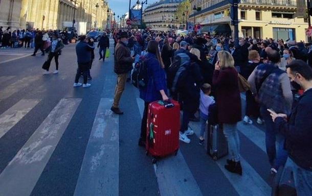 В Париже эвакуировали вокзал из-за подозрительной сумки