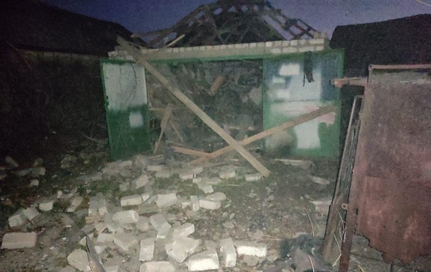 Сепаратисты обстреляли Трехизбенку
