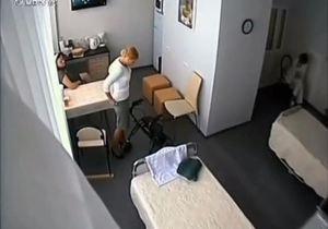 Скрытая видеокамера в камере тимошенко