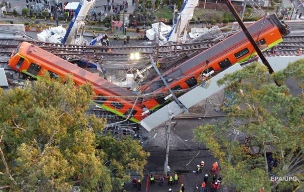 В Мексике – национальный трехдневный траур по погибшим в катастрофе в метро.