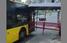 В Киеве остановка влетела в троллейбус